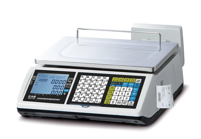 Váhopokladna CAS CT-100 15kg bez stopky
