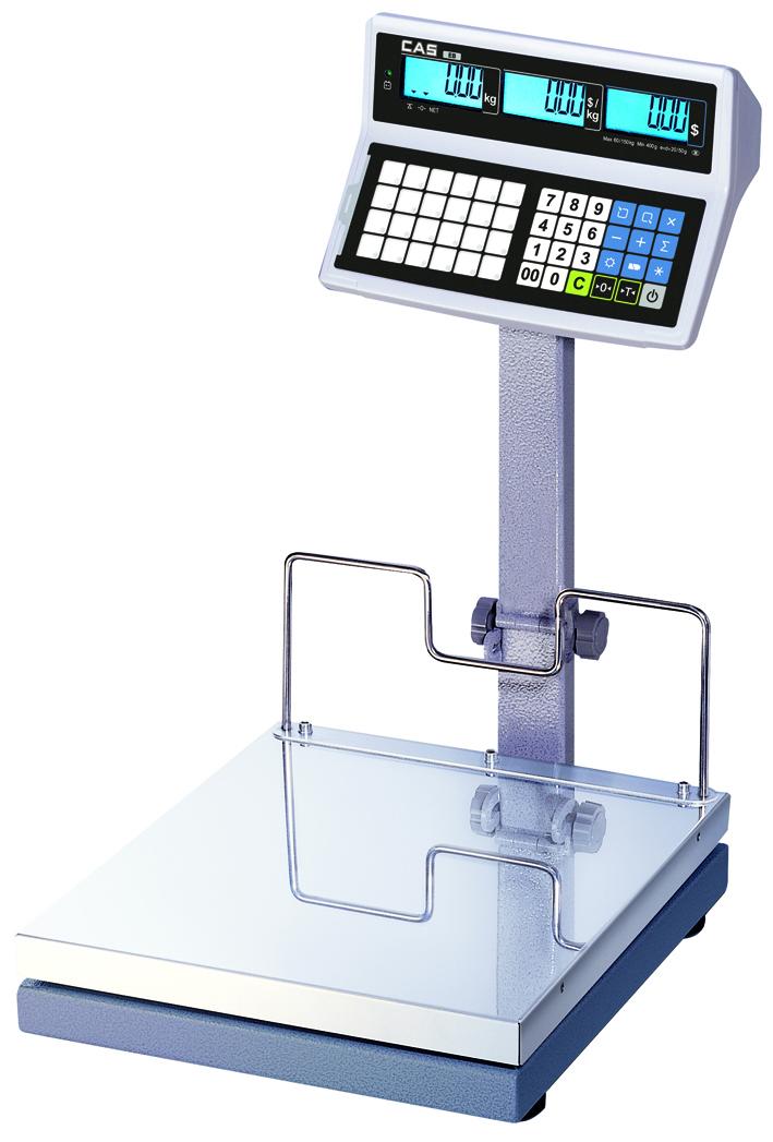 Obchodní váha s výpočtem ceny můstková CAS EB-S do 150kg