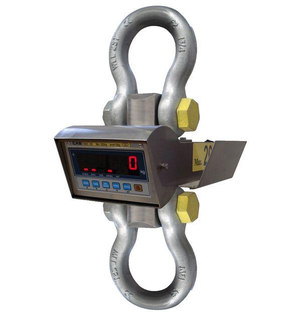 Jeřábová váha J1-NT200S-TR, do 25 t, technologická (Jeřábová / závěsná váha J1-NT200S-TR do 25 tun, technologiciká váha pro kontrolní vážení)
