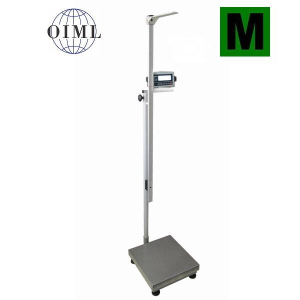 Osobní váha s výškoměrem 1T4040LOV250-BASIC, 250 kg (Osobní váha s výškoměrem 1T4040LOV250-BASIC do 250 kg s možností certifikace)