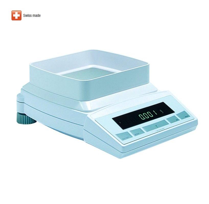 Přesná laboratorní váha PRECISA XB 620M, 620g/0,001g (Velmi kvalitní laboratorní váha PRECISA XB 620M s interní kalibrací)