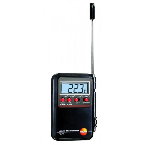 Kalibrovaný vpichovací miniteploměr Testo s alarmem