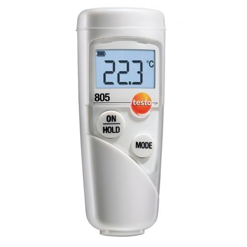 Kalibrovaný infra teploměr Testo 805 pro bezkontaktní měření