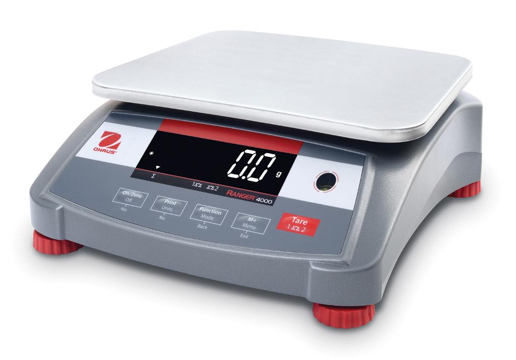 Průmyslová váha Ohaus Ranger 4000, 30kg , 1 g