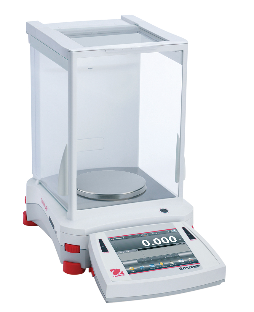 Přesná váha Ohaus Explorer EX423/E, 420 g x 1 mg. (Přesná váha Explorer Precision , model EX423/E s váživostí 420 g, 1 mg. technologická)