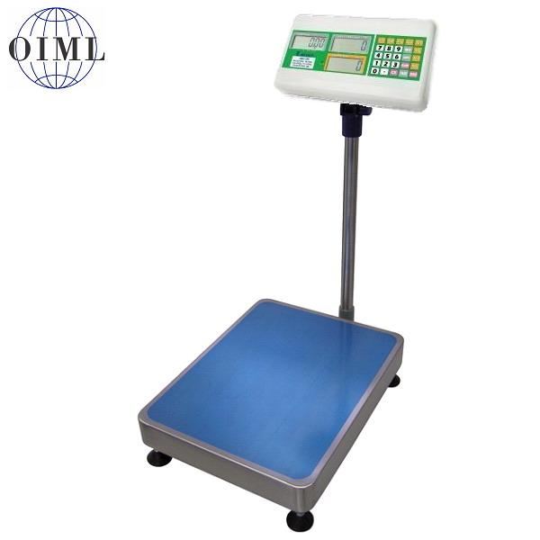 Můstková váha 1T4560LNAEC, 30kg, 450mmx600mm, lak/nerez (Můstková váha 1T4560LNAEC, 30kg, s režimem vážení a počítání kusů)