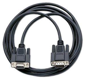 Komunikační kabel k PC / RS232, pro váhy CAS ER PLUs, (Komunikační kabel s RS232 (nekřížený) pro připojení váhy k PC, délka 2 m)