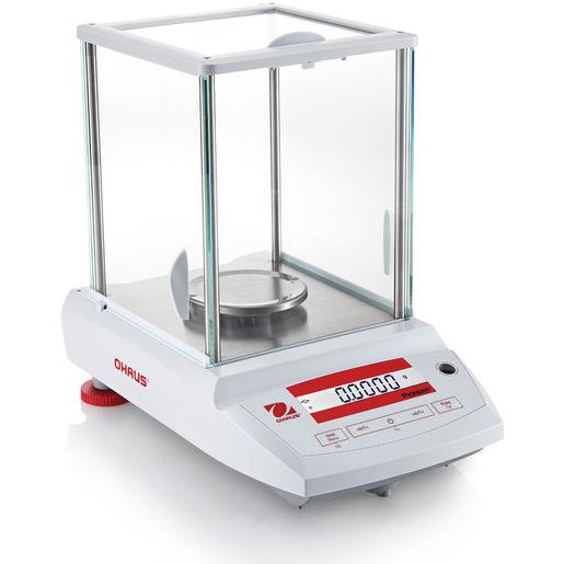 Analytická váha Ohaus® Pioneer Analytical PA124CM/2, 120 g, x 0,1 mg (1mg) (Laboratorní váha Ohaus řady Pioneer Analytical, max 120 g s dílkem 0,1 mg a ověřeným dílkem 1 mg. ES ověření)
