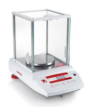 Laboratorní přesná váha Ohaus® Pioneer Precision PA423CM/2, 420 g x 10 mg (1mg) (Laboratorní váha Ohaus® Pioneer Precision s ES ověřením, váživost do 420 g, interní kalibrace)