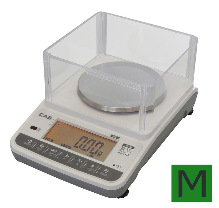 Zlatnická váha CAS XE 600g