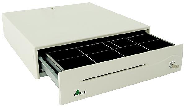 Pokladní zásuvka DOXY PZ-906 12/24V bílá (Pokladní zásuvka DOXY PZ-906)