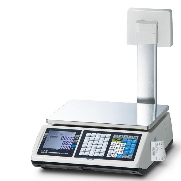 Váhopokladna CAS CT-100 15kg s displejem na nožce