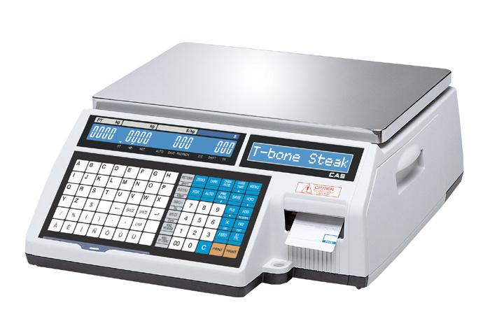Obchodní váha CAS CL5000 6 kg