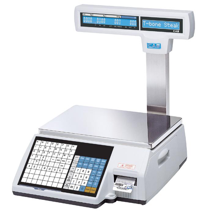Obchodní váha CAS CL5000 Junior 6 kg