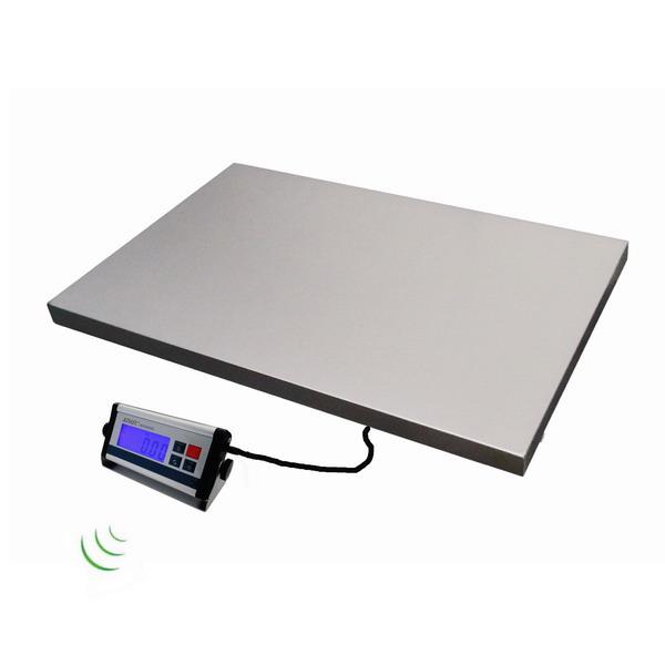 Můstková váha KDAEC-6090-BT, 200 kg, veterinární váha (Veterinární můstková váha KDAEC-6090 do 200 kg nejen pro vážení zvířat s bezdrátovým přenosem dat)