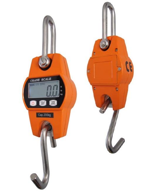 Závěsná váha OCS-L1 do 200 kg, pro kontrolní vážení (Kvalitní závěsná váha OCS-L1 do 200 kg pro kontrolní vážení břemen ve visu)