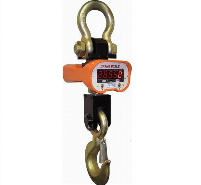 Jeřábová váha OCS-A/10T, 10t/5kg, s dálkovým ovládáním (Závěsná jeřábová váha OCS-A/10T do 10 tun s dálkovým ovládním)