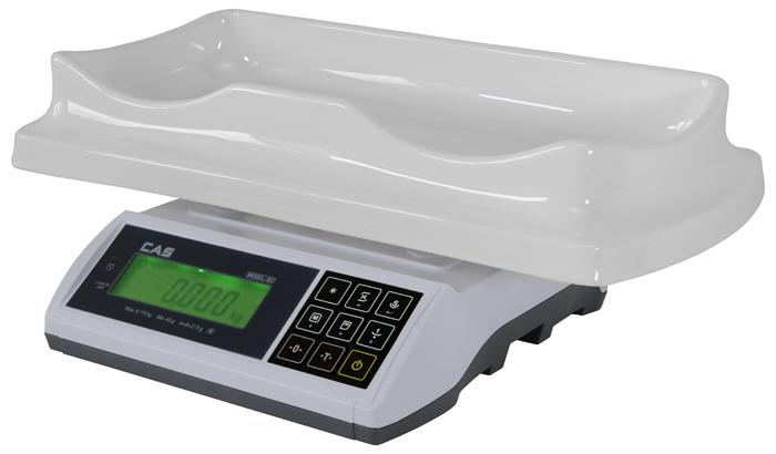 Kojenecká váha CAS ED BABY-6/15 kg (Kojenecká váha CAS ED BABY do 15 kg s ES ověření)
