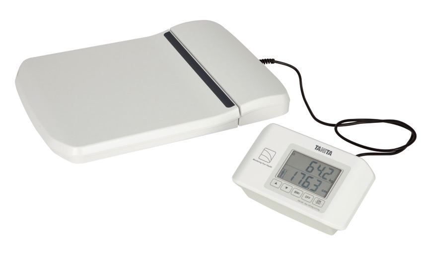 Lékařská osobní váha Tanita WB 380S s funkcí BMI (Osobní digitální váha Tanita WB 380S s funkcí BMI v nízkém provedení)