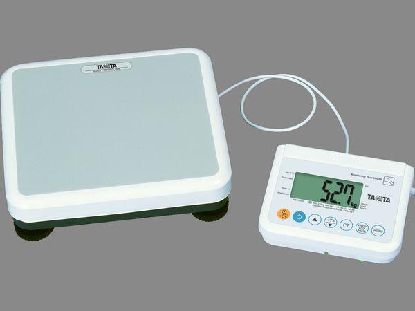 Lékařská osobní váha Tanita WB 150MA S, cejchuschopná (Osobní digitální váha Tanita WB 150MA S pro zdravotnické zařízení)