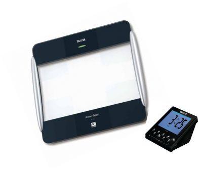 Tělesný analyzátor TANITA BC 1000 a bezdrátovým displejem (Osobní váha s tělesnou anylýzou Tanita BC-1000 s bezdrátovým displejem D-1000)