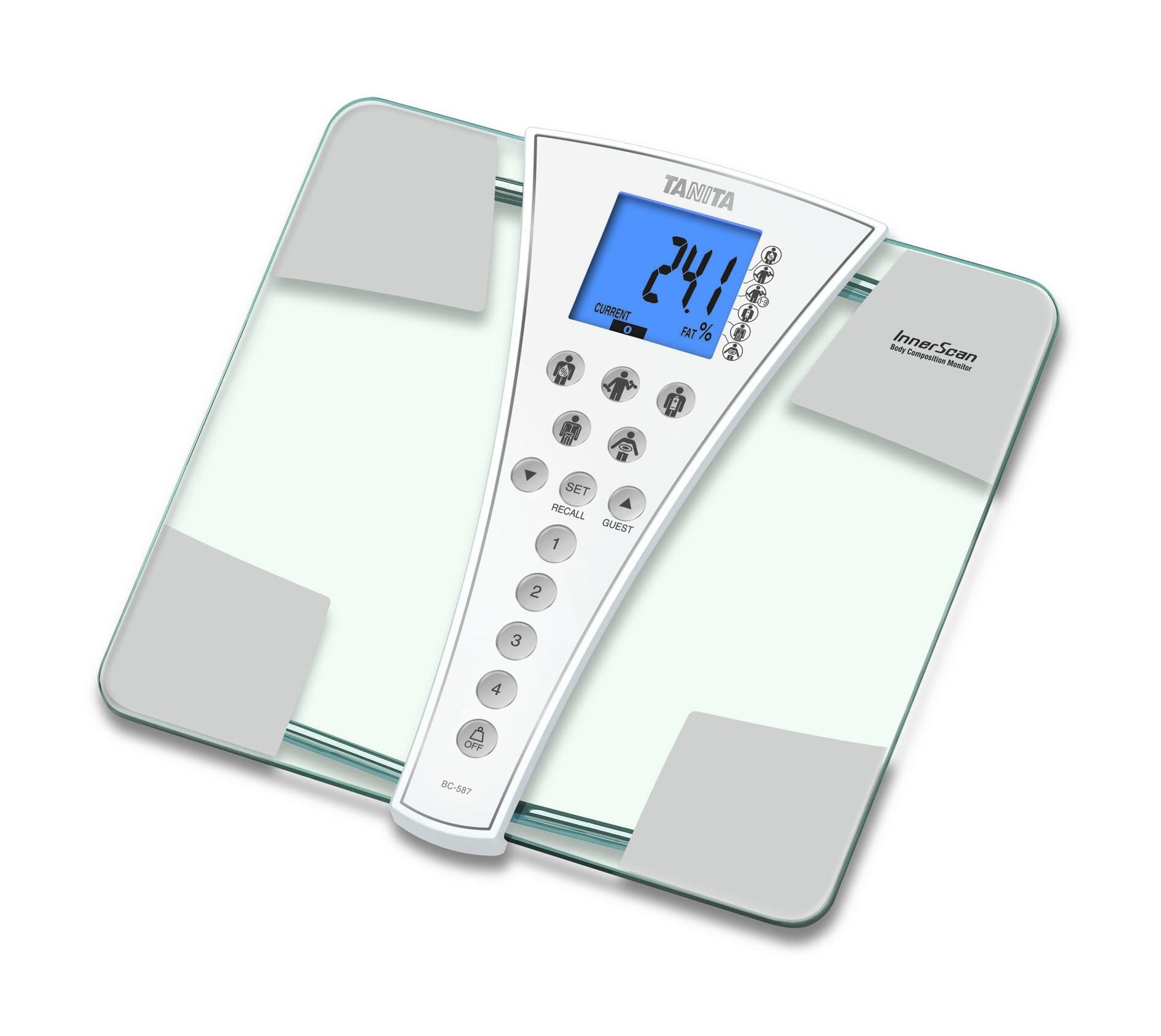 Osobní váha s tělesnou analýzou Tanita BC-587 (Osobní váha s tělesnou analýzou Tanita BC-587 pro domácí vážení)