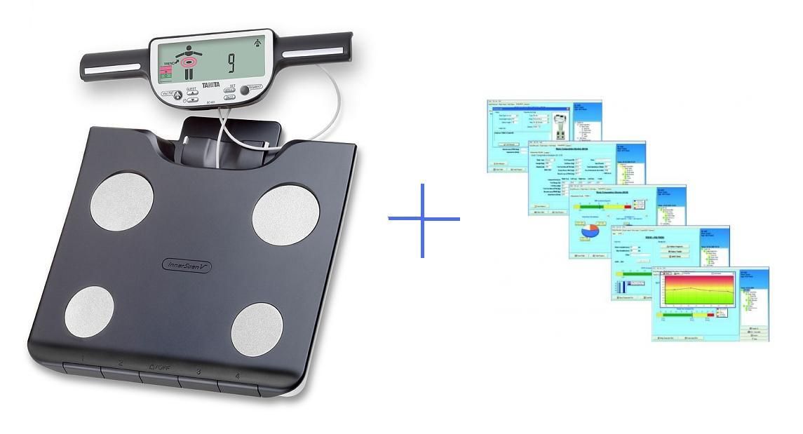 Osobní váha s tělesnou analýzou Tanita BC-601 + GMON (Osobní váha s tělesnou analýzou Tanita BC-601 a softwarem GMON Standard pro domácí vážení)