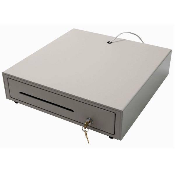 Pokladní zásuvka CWY2B 12/24V, světlá (Pokladní zásuvka k POS systému ovládaná napětím 12V nebo 24V)