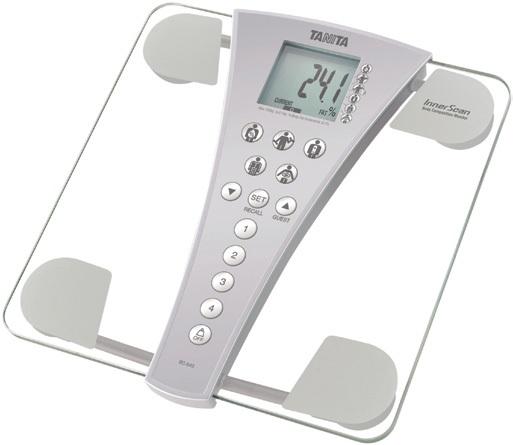 Osobní váha s tělesnou analýzou Tanita BC-543 (Osobní váha s tělesnou analýzou Tanita BC-543 pro domácí vážení)
