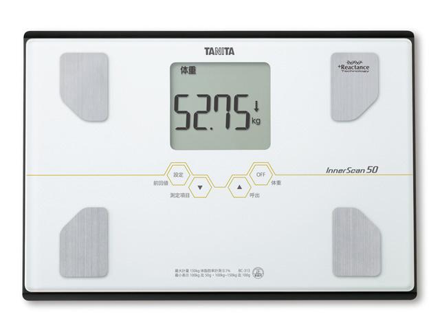Osobní váha s tělesnou analýzou Tanita BC-313 bílá (Osobní váha s tělesnou analýzou Tanita BC-313 bílá pro domácí vážení)