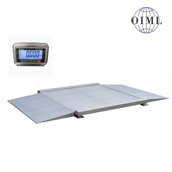 Nájezdová váha 4TU0808N/300, nerez