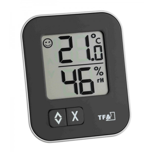 Kalibrovaný teploměr s vlhkoměrem TFA 30.5026.01, MOXX (Digitální teploměr s vlhkoměrem TFA 30.5026.01, včetně kalibračního k vybrané kalibraci)