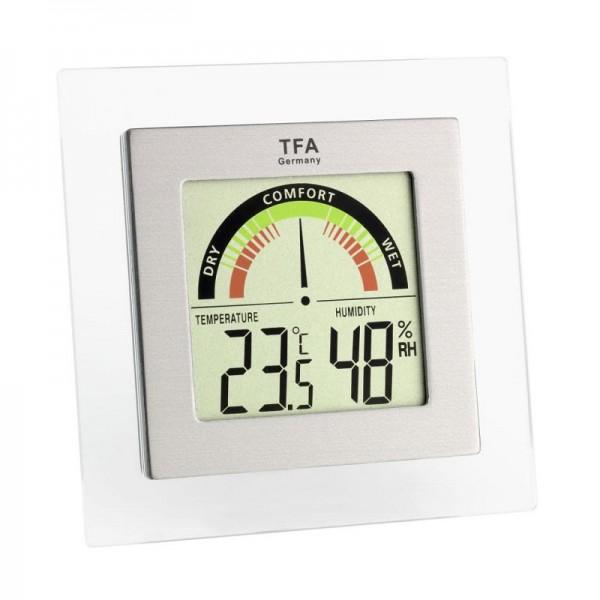 Kalibrovaný teploměr s vlhkoměrem TFA 30.5023