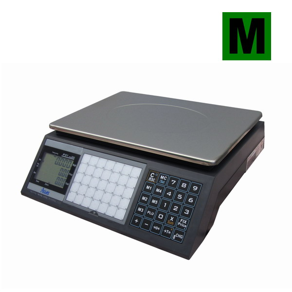 Obchodní váha ACLAS PS1-15DS, 6/15kg, cejchovaná