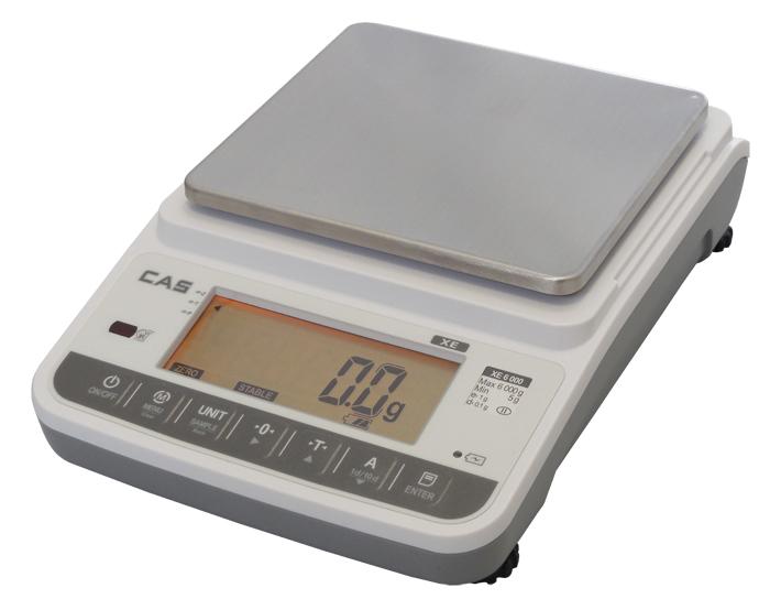 Laboratorní přesná váha CAS XE-H 3000g, technologická