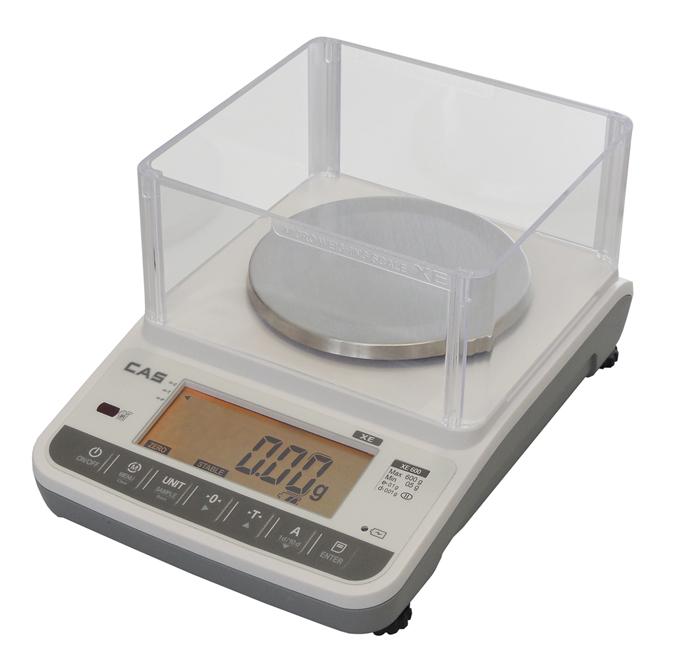 Laboratorní přesná váha CAS XE-H 300g, technologická