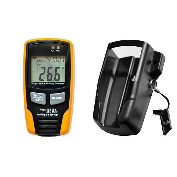 Kalibrovaný datalogger GAR 195, teplota a vlhkost