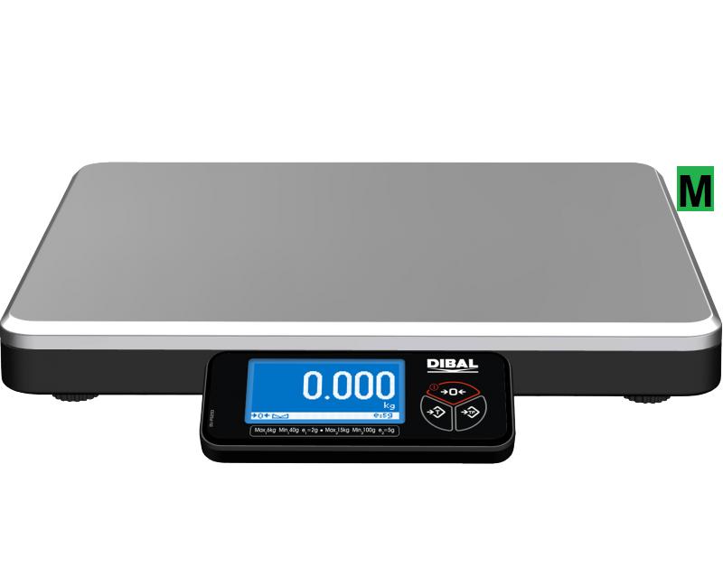 Obchodní váha DIBAL DPOS 400F1, 6/15 kg cejchovaná (Obchodní váha DIBAL DPOS 400F1 pro připojení k POS nebo reg. pokladně)