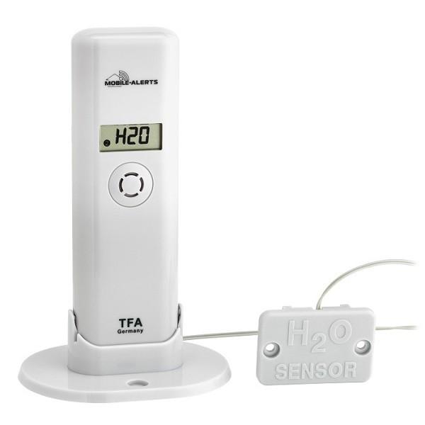 Bezdrátové čidlo TFA 30.3305.02 s detekcí vody pro WeatherHub (Přídavné bezdrátovné čidlo teploty a vlhkosti s detekcí vody TFA 30.3305.02 pro monitorovací systém WeatherHub)
