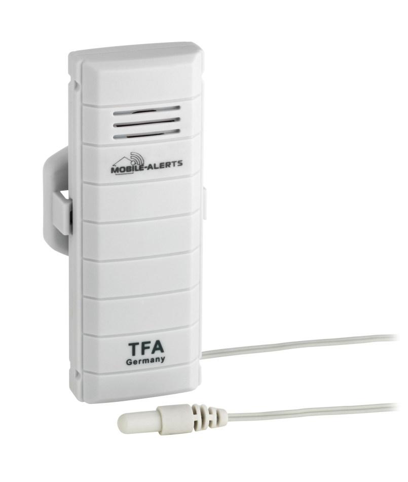 Bezdrátové čidlo TFA 30.3301.02 pro WeatherHub - teplota (Přídavné bezdrátovné čidlo teploty s externím čidlem TFA 30.3301.02 pro monitorovací systém WeatherHub)