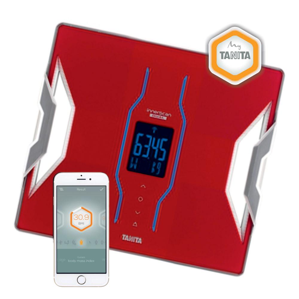 Osobní váha s tělesnou analýzou Tanita RD-953 červená (Osobní váha s tělesnou analýzou Tanita RD-953, komunikace s aplikací My Tanita )
