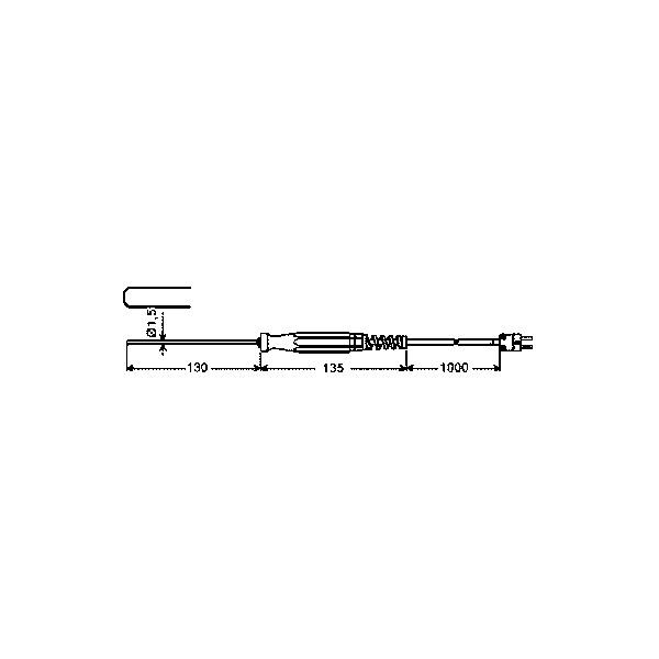 Teplotní sonda typu K GTF 400