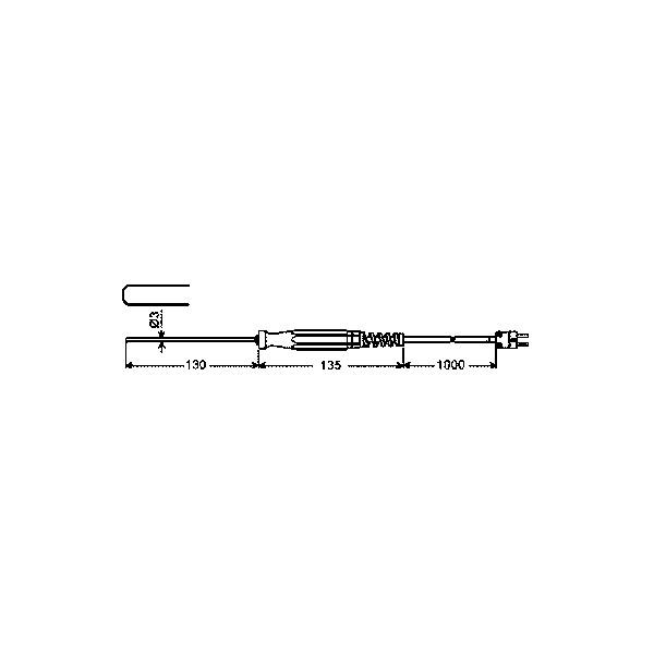 Ponorný snímač teploty typu K - GTF 900