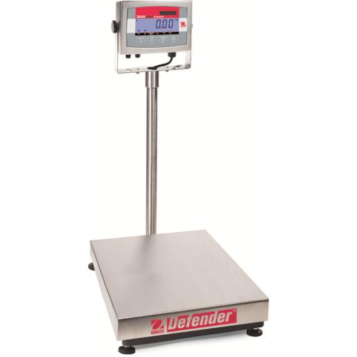 Nerezová váha OHAUS® Defender™ 3000, 30 kg/5g, 355x305 mm, technologická (Celonerezová váha s krytím IP65, určeno do nejnáročnějších prostředí. )