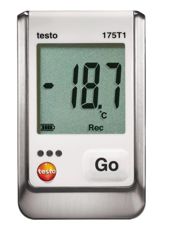 Datalogger teploty 175 T1, jednokanálový