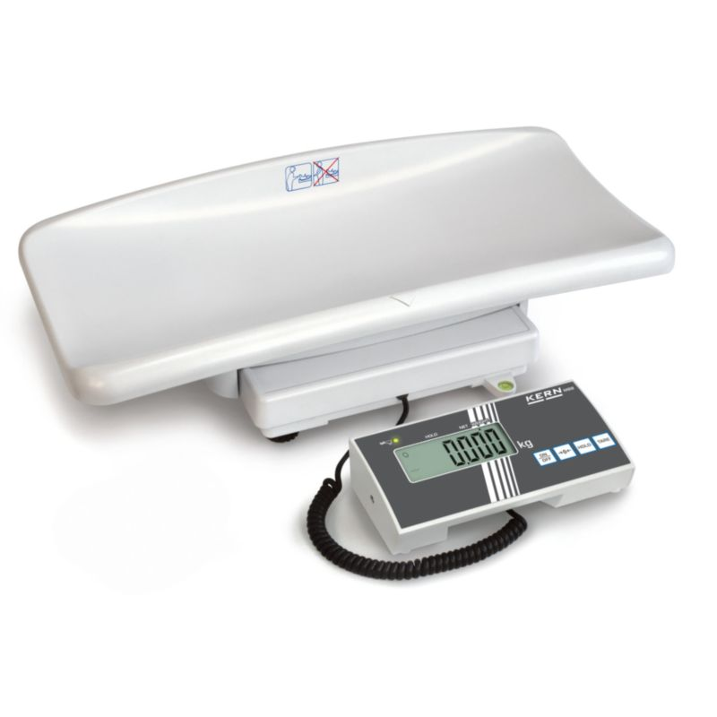 Kojenecká váha KERN model MBB s ověřením, do 15 kg (Kojenecká váha značky KERN model MBB do zdravotnictví, včetně ES ověření pro stanovené měřidlo)