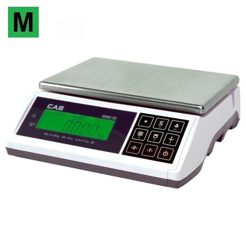Stolní váha CAS ED - 15 kg (Obchodní váha CAS ED do 15 kg)