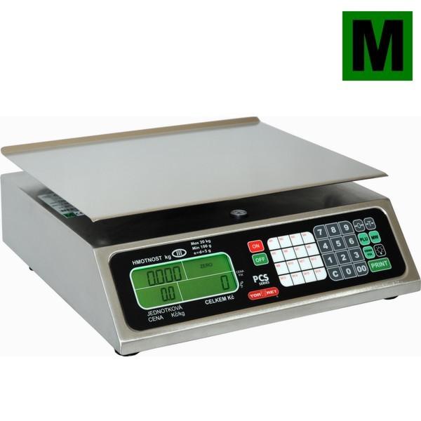 Obchodní váha TORREY PCS-20, 20kg