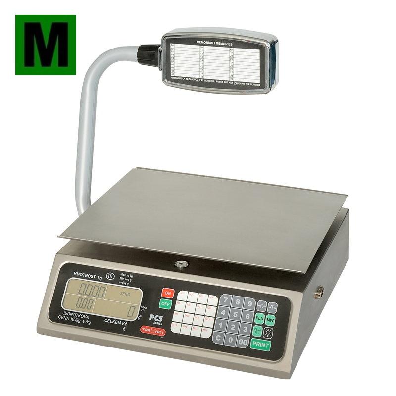 Obchodní váha TORREY PCS-20T do 20kg